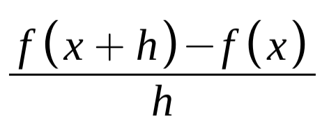 calculus slope formula